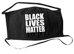 Black Lives Matter Cloth Face Mask (Washable)