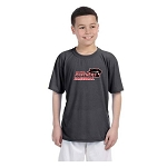 Youth Panther Baseball Short Sleeve Performance Tee