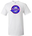 Wildkat  Baseball  Circle Emblem Adult Tee