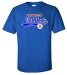 Wildkat Baseball Throw Back Adult Tee